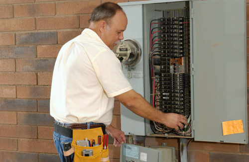 Checking electrical panel for safety issues